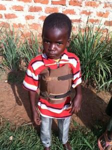 5 year-old Michael Wafula
